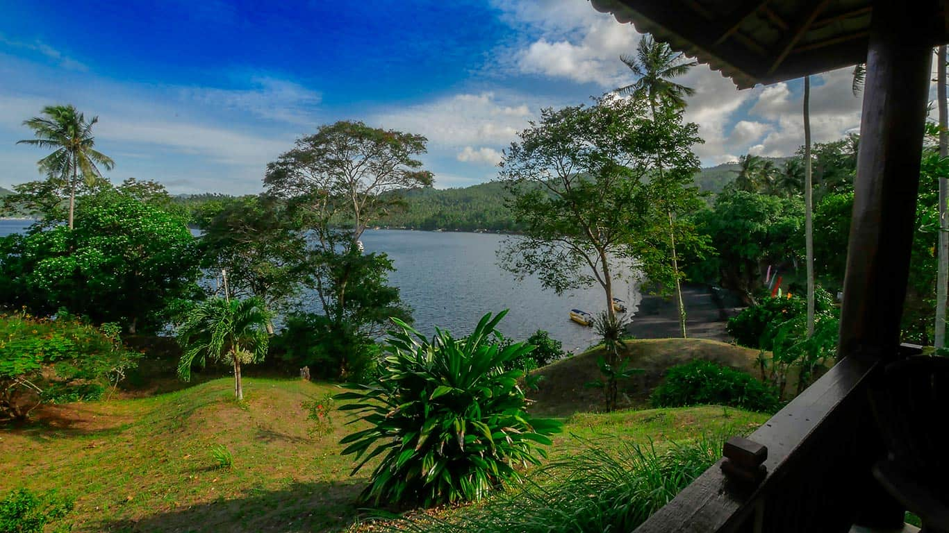 View over Lembeh Strait